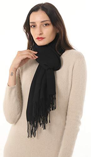Womens Pashmina Shawls Wrap Scarf Cashmere Acrylic Large Stole Gift Idea