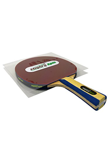 MightySpin Ping Pong Paddle Protector  Table Tennis Racket Accessories Rubber Protection Sheet  Protective Film Cover for Your Paddles Rubbers  Keep Your Racquet in Mint Condition