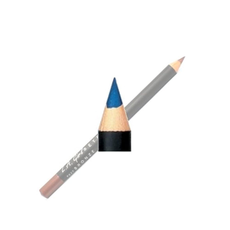 予防接種する逆化合物(3 Pack) LA GIRL Eyeliner Pencil - Blue Metallic (並行輸入品)
