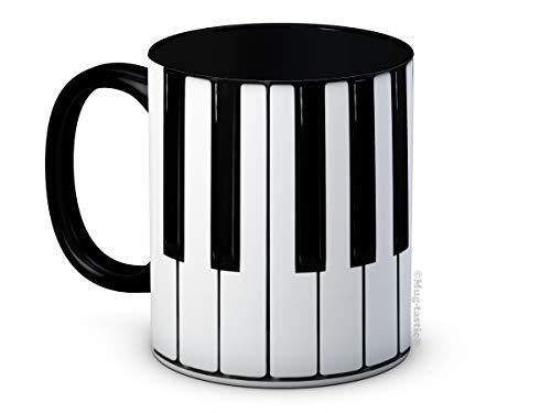 Piano Keys Keyboard Musical - Ceramic Coffee Mug