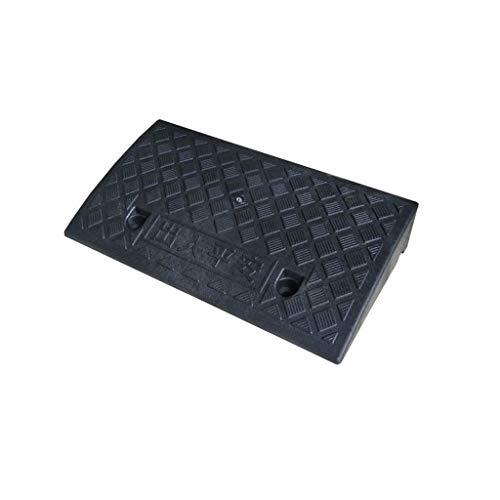 Almohadilla Vertical for Silla de Ruedas de 5-13 cm, Almohadilla Triangular de plástico Negro Rampas de Servicio portátiles Antideslizantes Rampas for bordillo de Motocicleta de automóvil