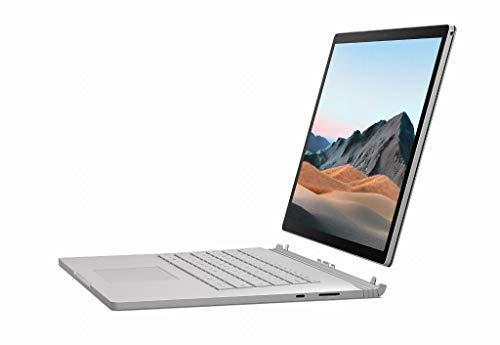 Microsoft Surface Book 3 Hybrid (2-in-1) Platinum 15' 3240x2160 Pixels 10th Generation Intel Core i7 Processors 16GB LPDDR4x-SDRAM 256GB SSD Wifi 6 (802.11ax)