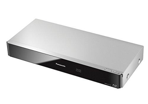 Panasonic DMR-BCT745EG9 Blu-ray Rekorder 500GB Festplatte (Twin HD DVB-C-Tuner, Einkabelfunktion, WLAN, 2x CI+, HbbTV, 4K Upscaling, Streaming) silber