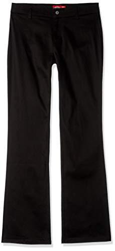 Dickies Girl Junior's Worker Boot Cut Pant, Black, 9