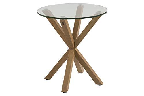 Amazon Brand - Movian Zala - Tavolo da caffè, 50 x 50 x 55 cm (Lu x La x A), marrone