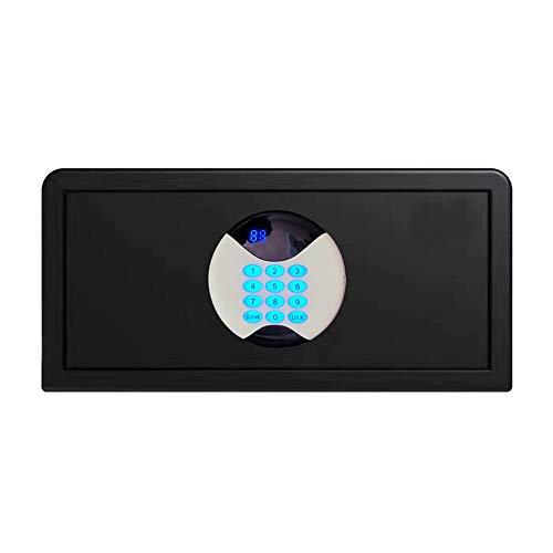 Brandvrije kluis Digitale Elektronische Kluis Beveiliging Box, Brandwerende Lock Box Veilig thuis (Color : Black, Size : 42x37x20cm)