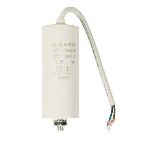 Condensador arranque motor electrico (20.0 uF)