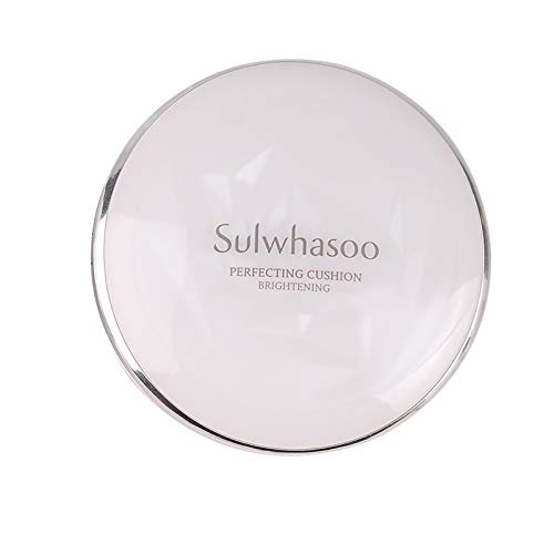 Sulwhasoo Perfecting Cushion EX/Snowise Air Cushion, SPF 50 +PA++++ Anti-Wrinkle Concealer Moisturizing Full Coverage Air Cushion BB Cream Liquid Foundation (classice snowise 21#)