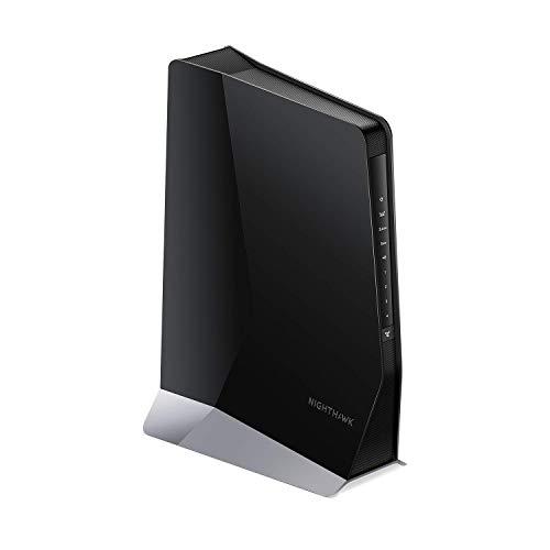 NETGEAR Ripetitore WiFi 6 Mesh AX6000 EAX80, WiFi Extender con 4 porte Lan e 8 Stream, ripetitore WiFi wireless compatibile con modem fibra e adsl