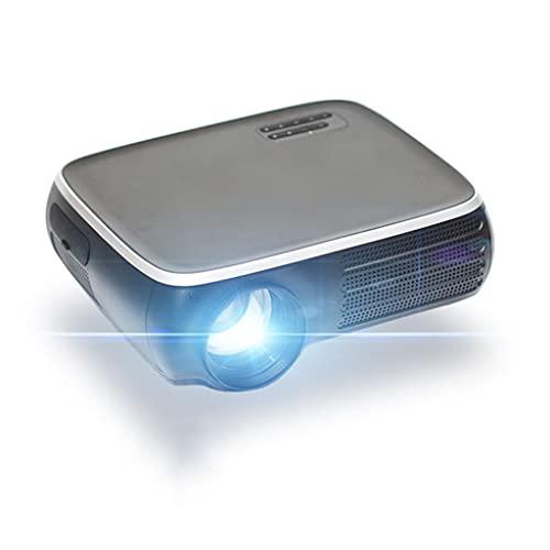 YUTRD CUJUX Proyector M8S Full HD 1080P 4K 7000 WiFi Compatible con Bluetooth AV USB con Regalo (Color : M8S)