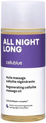 Cellublue Cellulite Massageöl für die Nacht   Die ganze Nacht lang   Spezielles Fettöl für die Palpate-Roll-Massage - 150 ml