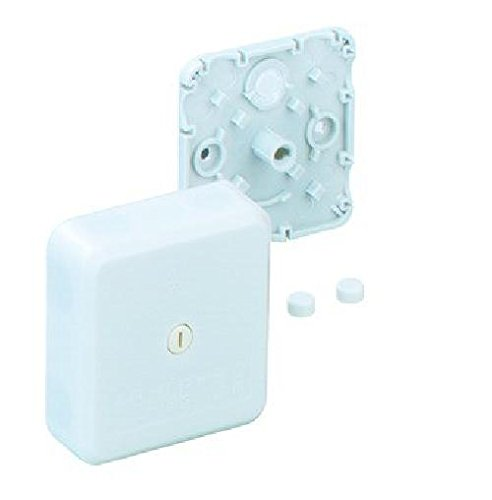 WAGO AP 7 – L Polypropylene (PP) Electrical Junction Box – Electrical Junction Boxes (Grey, White, 78 mm, 78 mm, 27 mm)