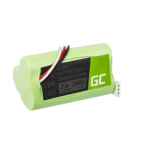 Green Cell ® 180AAHC3TMX Akku, Batterie für drahtlosen Lautsprecher Logitech S315i S715i Z515 Z715 S-00078 S-00096 S-00100 (NI-MH Zellen 2000mAh 3.6V) garantierte kompatibilität, zuverlässigkeit