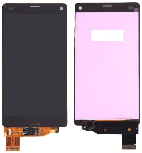 XiaoZhu Ersatzteile für Sony Xperia Z3 Compact (Z3 Mini) LCD Display Touchscreen Bildschirm Digitizer Ersatzdisplay Assembly (ohne Rahmen) Schwarz