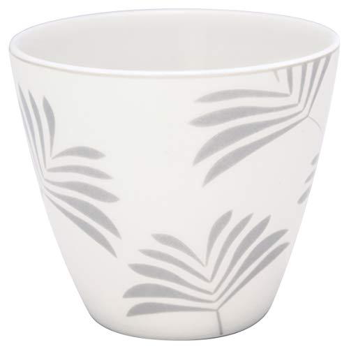 GreenGate - Tasse, Latte Cup - Maxime - White - Porzellan - 300 ml