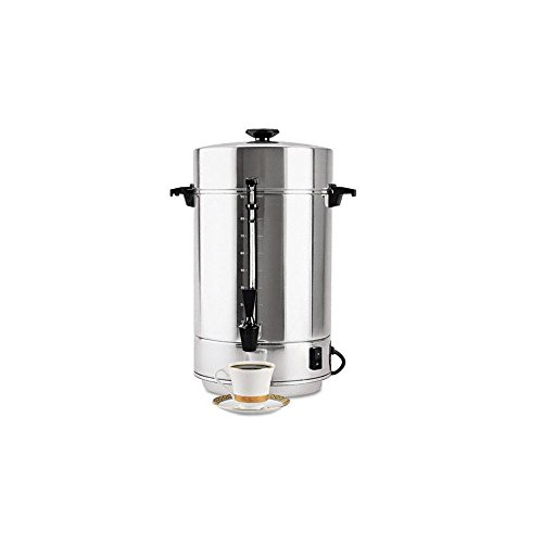 West Bend 58001R Commercial Aluminum Coffeemaker with Non-Drip Spigot, 100-Cup (Discontinued by Manufacturer)