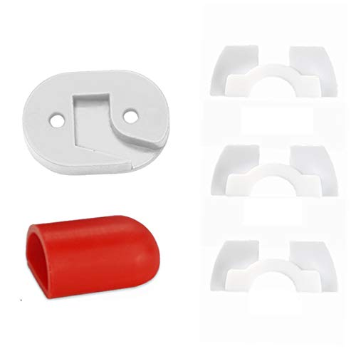 KUNSE Scooter vervangende accessoires voor xiaomi M365/M187/Pro Achterlicht Pad Bevestigingskap Damping