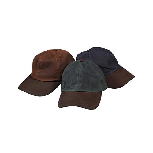 Hoggs of Fife Hoggs of Fife Waxed Baseball Cap - One Size Brown