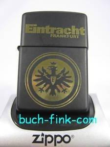 Zippo Briquet Eintracht Frankfurt Noir mat