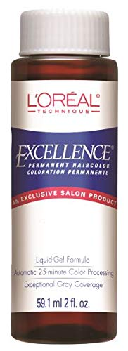 L'Oreal Excellence Liquid 10. E Baby Beige (Pack of 6)