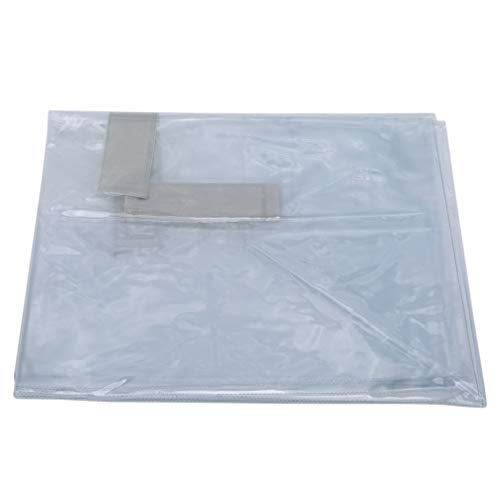 Toporchid - Custodia protettiva trasparente per bagagli antipioggia, colore trasparente, 28 cm