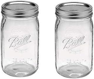 Ball 瓶(メイソンジャー)32oz(ワイド蓋)2個セット