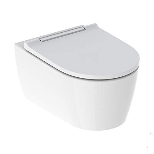 Geberit ONE Set Tiefspüler mit WC-Sitz, verchromt