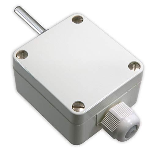 iOVEO 002AF02200 - PT1000 - Sensor de temperatura exterior/sensor exterior con Mango, conector de 2 conductores, sensor de temperatura