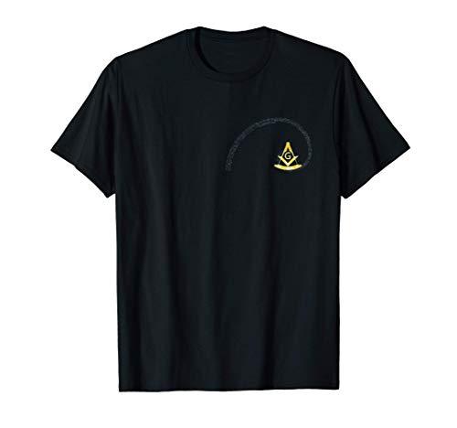 Francs-maçons Boussole Carré Maçonnique Nombre d'or T-Shirt
