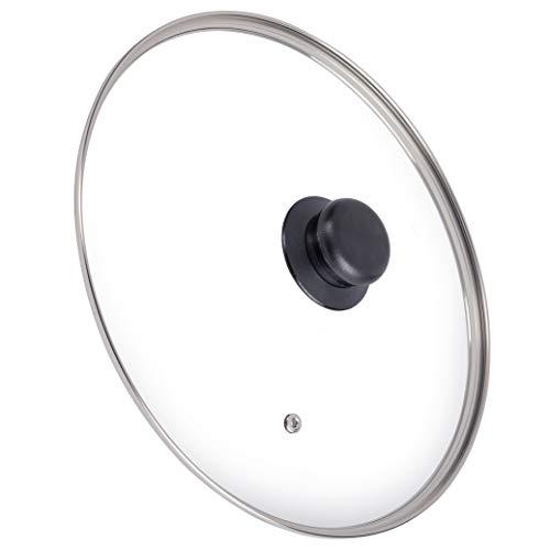 ONVAYA® Glasdeckel Ø 28 cm | Pfannendeckel | Topfdeckel | Deckel für Kochtopf