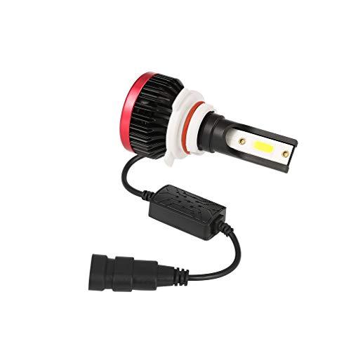 Kit de phares à LED P6 H4, 12 ampoules halogènes de rechange en aluminium de rechange 24V 6000ML, rouge et blanc, 1 pièce,H7