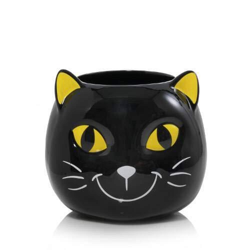 Yankee Candle Large Halloween Friends KOOKIE Kitty Ceramic Jar Candle Holder