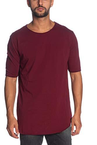 Imperial T-Shirt Uomo Taglio Vivo t084yail XXL Prugna