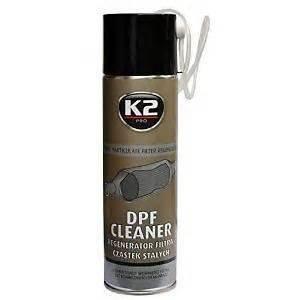 Limpiador K2 en Aerosol para Filtro DPF de partículas en Motores diésel de 500ml, no es Necesario Quitar el Filtro