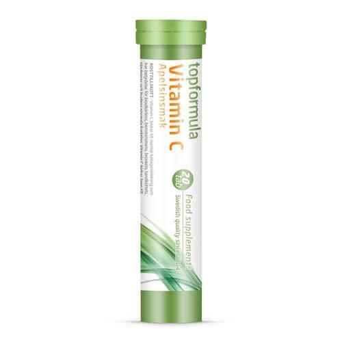 Topformula   C-vitamin Brus - Apelsin