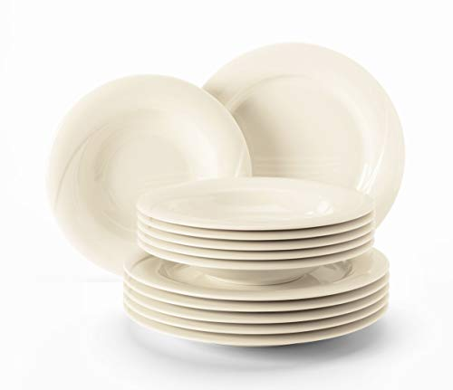 Seltmann Weiden Orlando Fine Cream Tafelservice 12 tlg.