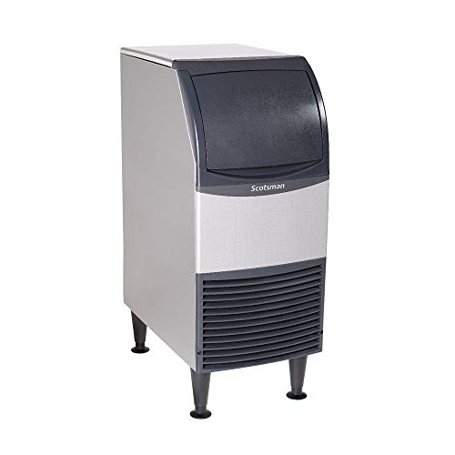4. Scotsman UN0815A-1 15-Inch Air-Cooled Nugget Undercounter Ice Maker Machine with 36 lb. Storage Capacity, 79 lbs/Day, 115v, NSF