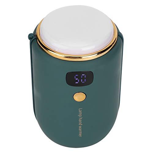 Changor Mini proyector, PC y aleación de Aluminio y Silicona 50 ℃ -60 ℃ Ajustable 3.5h o más de Uso del Cargador portátil de Tiempo
