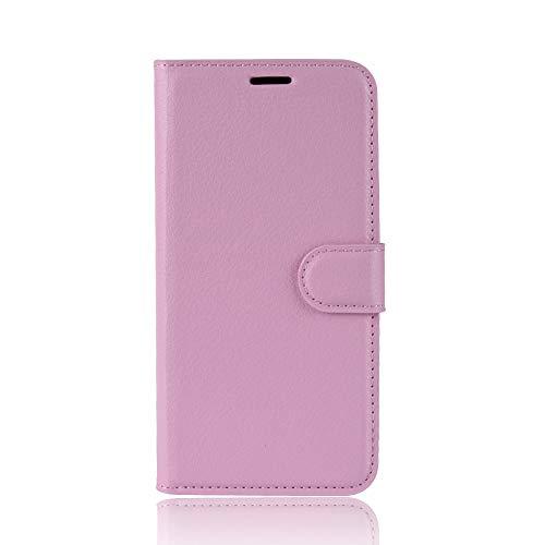 Tasche für Asus ZenFone 3 (5.2zoll) ZE520KL Hülle, Ycloud PU Ledertasche Flip Cover Wallet Hülle Handyhülle mit Stand Function Credit Card Slots Bookstyle Purse Design rosa