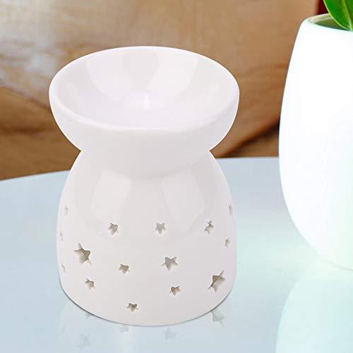 Wifehelper Lámpara Fragancia Nocturna cerámica Quemador