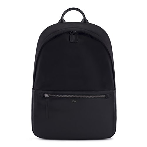 Best Review Of ISM: The Backpack (Black) | Leather Laptop Backpack | Work, Black, Size Large