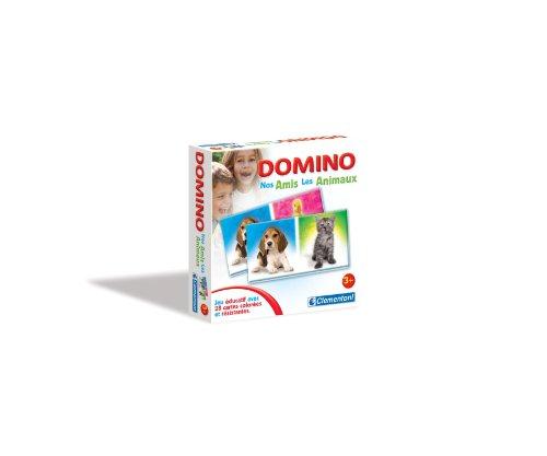 Clementoni - 12828 - Jeux éducatifs et scientifiques Domino - Nos Amis les Animaux