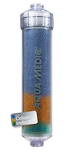Aqua Medic Top End Filter, Reinstwasserfilter mit Farbindikator