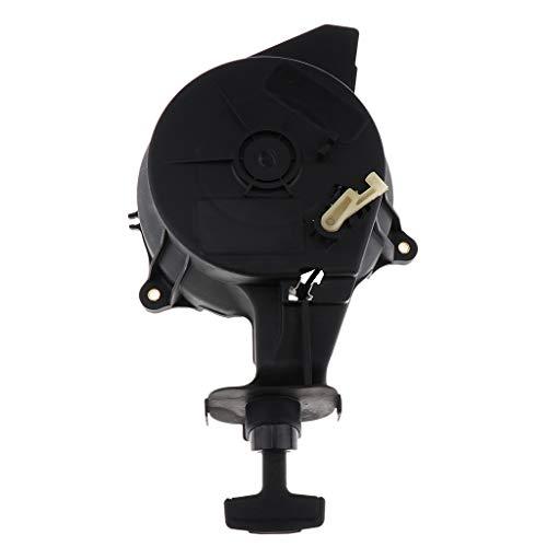 Gazechimp Kunststoff Starter Seilzugstarter Reversierstarter für Yamaha 4-Hub 5 PS Außenborder