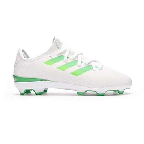 adidas Gamemode Knit FG Niño, Bota de fútbol, White, Talla 34 EU (34 EU)