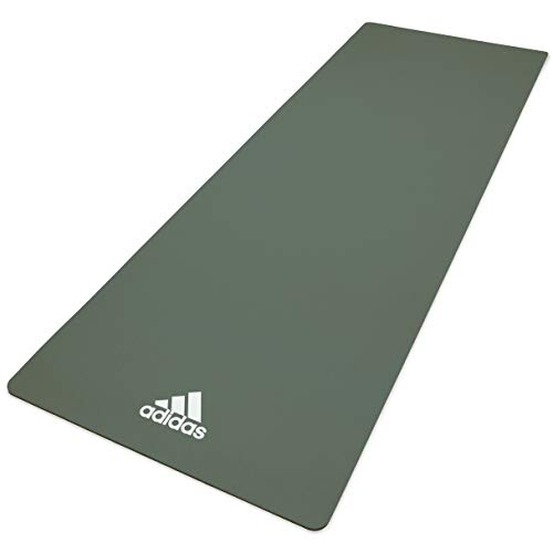 adidas, Tappetino Yoga Unisex-Adult, Raw Verde, 8 mm