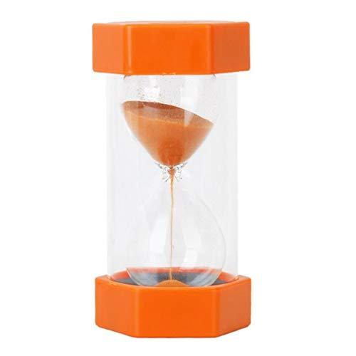Nicetruc Temporizador de Arena, a 2 Minutos de Seguridad de Reloj de Arena Reloj de Arena, Duración de la Cocina -Orange