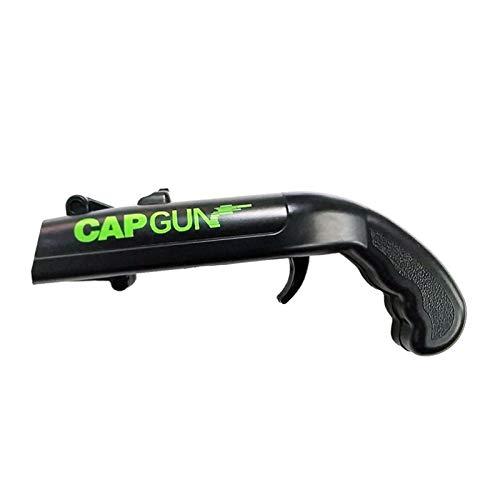 Cap Gun - Apribottiglie per bottiglie di birra, apribottiglie a forma di pistola divertente con tappo a corona, per la casa, il bar, la patio, il cabinet