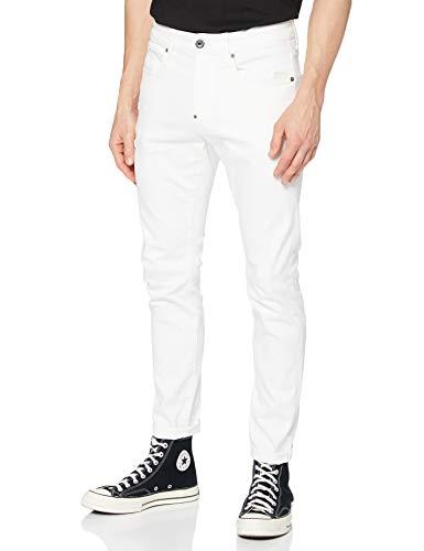 G-STAR RAW Herren Revend Skinny Jeans, Weiß (White C267-110), 31W / 34L
