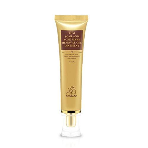 1Bottle Acne Scar Cream Scar Removal Gel Naturlig Formel Skin Repair Behandling för Burns Cuts Graviditet Stretch akne fläckar Scar Remover (30 ml / 1oz) Beauty Art